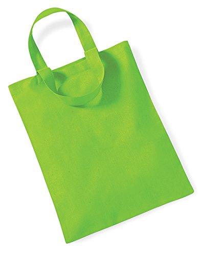Westford Mill Mini Bag for Life, Größe:26 x 32.5 cm, Farbe:Lime Green -
