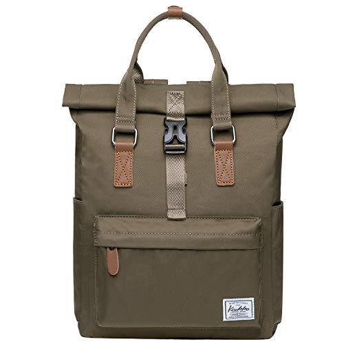 KAUKKO Laptop Rucksack Einfacher und Unisex Daypack Handtasche für Schul Reisen für 12 Zoll Notebook,28 * 11 * 40cm/ 13L -