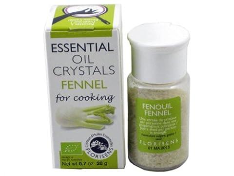Les Encens du Monde - Cristaux d'huiles essentielles fenouil bio - 20 g cristaux d'huile essentielle - Les