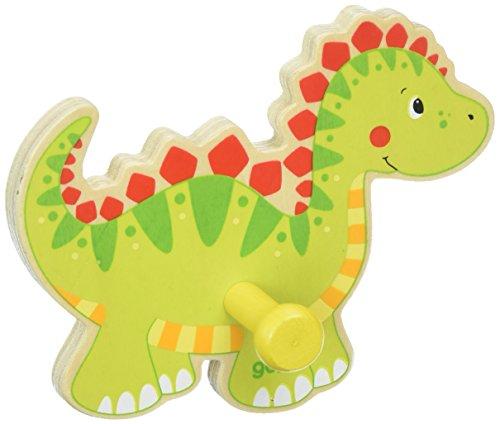 Puerta abrigo * * dinosaurio * * Madera * * GOKI * * juguete de madera