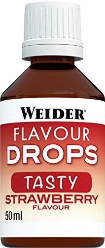 Weider Flavour Drops, Erdbeere, 1er Pack (1 x 50 ml)