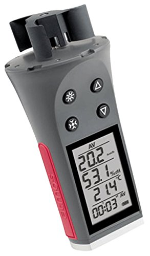 JDC Skywatch Atmos Handheld Anemometer with Temperature and Humidity Test
