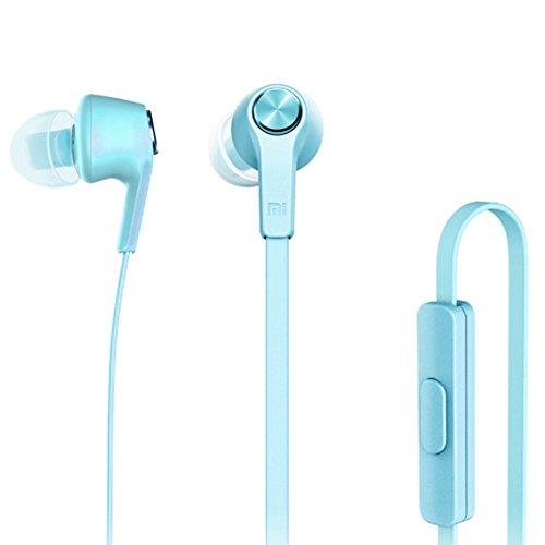 Xiaomi Basic Edition In-Ear Kopfhörer mit Fernbedienung & Mikrofon für iPhone iPad iPod Xiaomi Samsung Huawei Laptop PC Mac MP3 Player und weitere in pink rosa (Xiaomi Over-ear-kopfhörer)