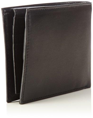 Tommy Hilfiger ETON CC FLAP & COIN POCKET BM56923466 Herren Geldbörsen 14x10x2 cm (B x H x T) Schwarz (BLACK 990)