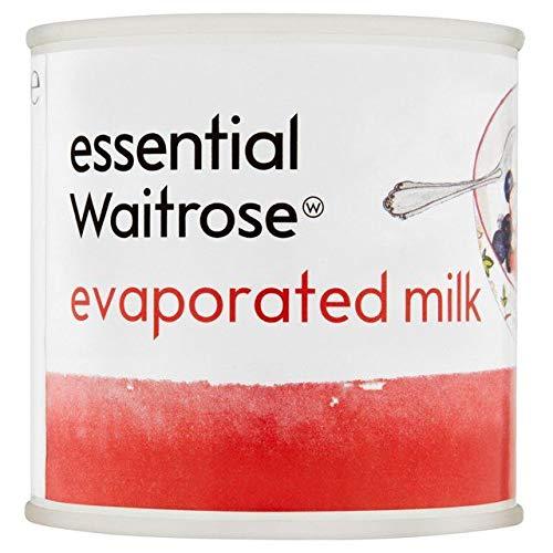 Essential Waitrose Evaporated Milk 170g