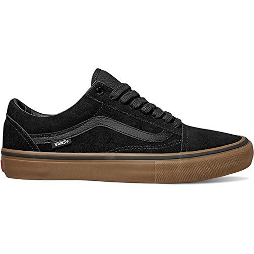 Vans Old Skool Pro Black/White Black Gum Gum