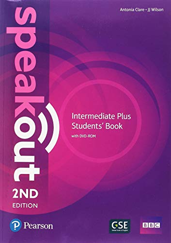 Speakout Intermediate Plus 2nd Edition Students Book/DVD-ROM/Workbook/Study Booster Spain Pack por Antonia Clare