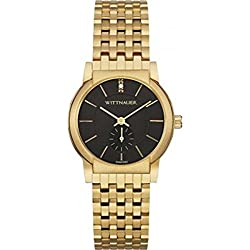 Wittnauer WN4049 Mens Carly Mini Diamond Gold Plated Watch