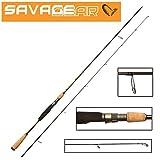 Savage Gear Bushwhacker XLNT2 258cm 30-80g, Spinnrute, Angelrute zum Spinnfischen, zweiteilige Rute zum Spinnangeln