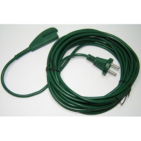 Cable de corriente para Vorwerk Kobold 135/136, 10m de largo A pack de 1 unidad