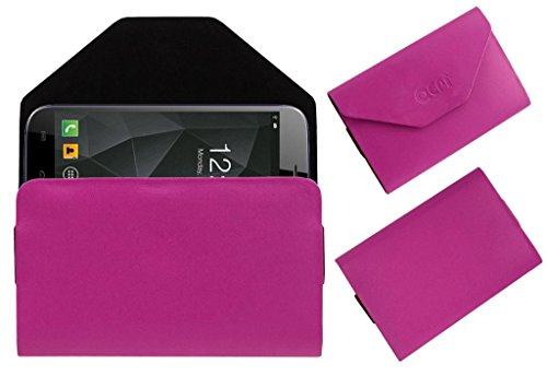 Acm Premium Pouch Case For Micromax A250 Canvas Turbo Flip Flap Cover Holder Pink  available at amazon for Rs.179