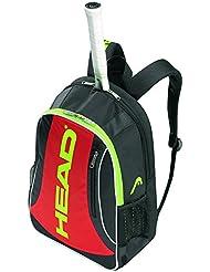 Head Elite - Bolsa para material de tenis, color negro / rojo, talla n/a