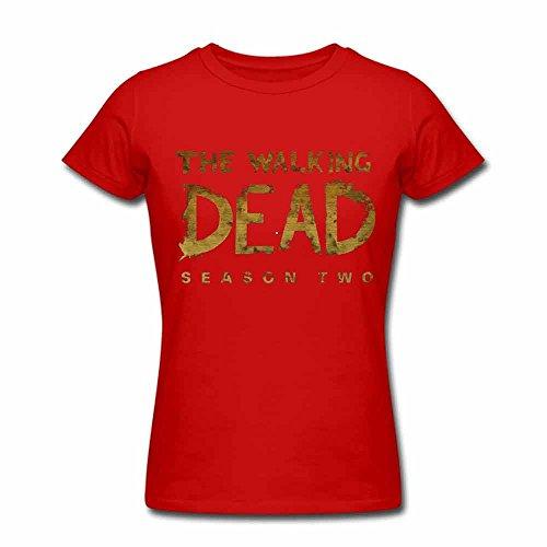 Womens 03 The Walking Dead Summer T-shirts Zombie XL