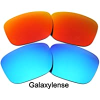 e0b6a6fdc5 Galaxy Replacement Lenses for Oakley Holbrook Blue Red Color Polarized