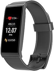 MyKronoz ZEFIT4HR-BLACK Aktivitätstracker mit Herzfrequenzmonitor, Farbtouchscreen und smarten Benachrichtigun