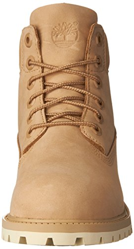 Timberland 6 in Classic Boot FTC_6 in Premium WP Boot 14749, Unisex-Kinder Stiefel Graubraun
