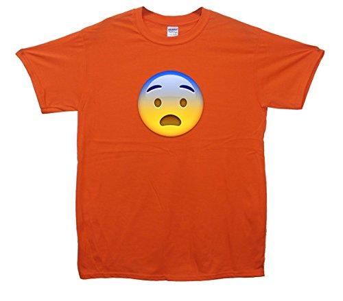 ScaRot Face Emoji T-Shirt Orange