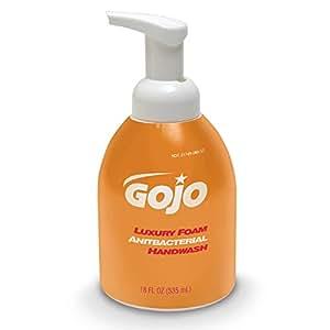 Luxury Foam Antibacterial Handwash, Orange Blossom, 18 oz Pump