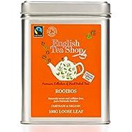 English Tea Shop Organic Fairtrade Rooibos - 100g Loose leaf tea in a Tin