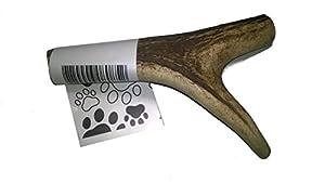 """1 morceau de bois de cerf à mâcher,pour les dents de votre chien moyen """"L"""""""