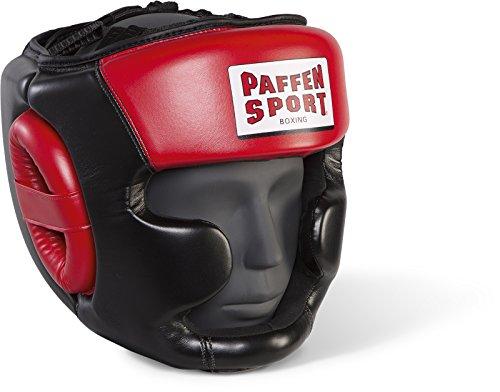 Paffen Sport Allround ECO Kopfschutz für Das Training; schwarz/rot; GR: S/M -