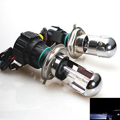 YU&YU 35w 12v h4 12000k faisceau xénon salut / lo caché ampoules de rechange pour les phares