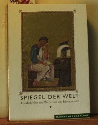 Dale Spiegel (Spiegel der Welt. Handschriften u. Bücher aus drei Jahrtausenden)