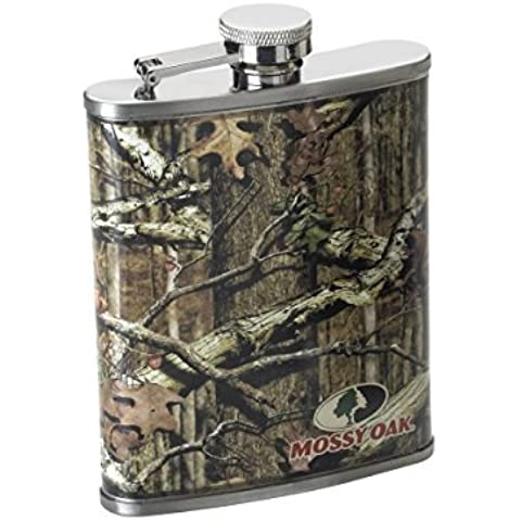 Mossy Oak Hip Flask, Green by Mossy Oak Watches