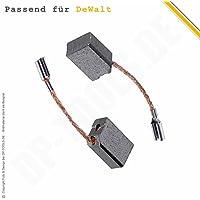 Kohlebürsten Kohlen Motorkohlen für Dewalt D 25324 K Typ 1,2 5,2x9,5mm 584429-00