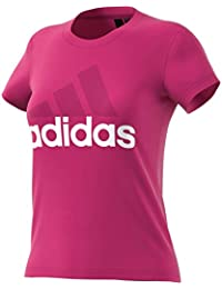 adidas ESS Li SLI Camiseta, Mujer, Magenta Real, M