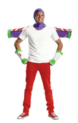 Buzz Lightyear Kit Adult (Buzz Lightyear Handschuhe)