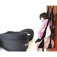 QAZSE Kit De Esclavitud para Parejas Swing Colgante De Silla En La Habitación De La Puerta para Hombres Y Mujeres Encuadernación Atada con Alternativa Swing Sex Sling Furniture