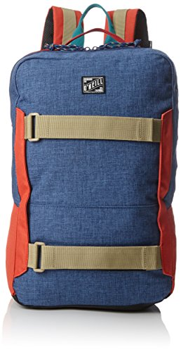O'Neill - Bm Boarder Plus Backpack, Mochilas Hombre, Blau (Atlantic Blue), 17x30x48 cm (B x H T)
