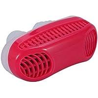 Whobabe 2 en 1 Parada Nasal congestión artefacto respirador purificador de Aire Anti-ronquido (Red) - Muebles de Dormitorio precios