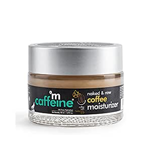 mCaffeine Oil-Free Coffee Moisturizer   Instant Hydration, Regulates Excess Oil   Hyaluronic Acid, Pro-Vitamin B5   All Skin Types   Paraben & Cruelty Free   50 ml
