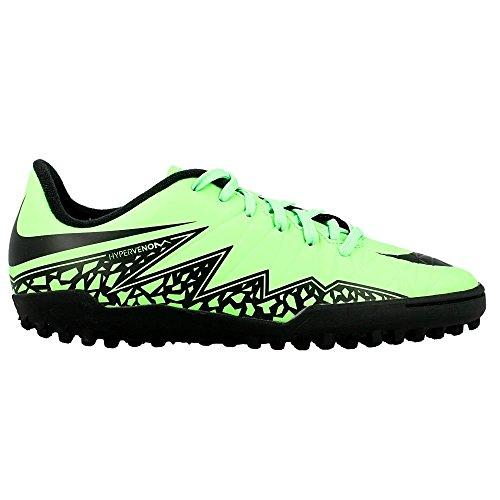 Nike Hypervenom Phelon II TF, Chaussures de Football Compétition Mixte Enfant green