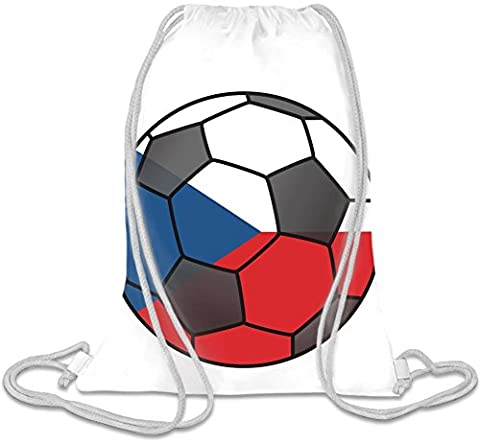 Czech Football Custom Printed Drawstring Sack | 100% Soft Polyester| 5 Liter Capacity| Adjustable String Closure| The Stylish Bag For Every Day Use| Custom Bags By Bang Bangin