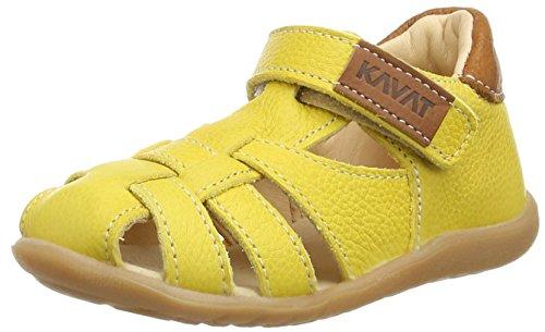 Kavat Rullsand Ep, Sandales premiers pas mixte bébé Jaune - Gelb (30)