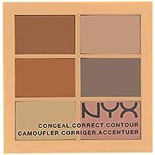 NYX Conceal, Correct, Contour Palette - Light