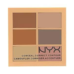 NYX Concealer 3C Palette Conceal, Correct, Contour Light 01, 9 g (1er Pack)