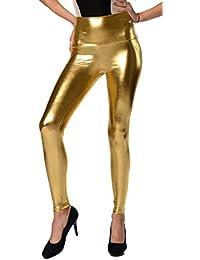 EloModa® Leggings mit Hohem Bund in 5 Farben, Gr. S M L XL XXL 3XL, p9041