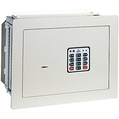 Arregui - Caja fuerte electrónica de empotrar beige claro