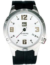 Quiksilver M129JR/ASIL - Reloj de caballero de cuarzo, correa de caucho color negro