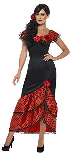 Senorita Sexy Kostüm - Fancy Me Sexy Flamenco-Tänzerin/Senorita-Kostüm für Damen,
