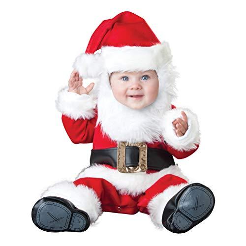 ARAUS Costume Abito Set da Natale per Neonato Pagliaccetti Cosplay da Prima Infanzia