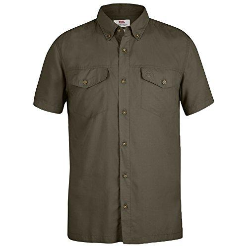 Fjällräven Herren Abisko Vent Shirt SS Kurzarmhemd, Tarmac, S