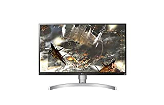 LG 27UK650 27 inch 4K UHD HDR 10 Height Adjustable IPS Monitor (3840 x 2160, 2x HDMI, DisplayPort, 350 cd/m2, 5ms, AMD Freesync) White (B0798QLW64) | Amazon Products