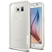 Spigen SGP11443 - Funda para Samsung Galaxy S6, Claro/Champán