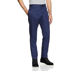 Dickies Herren Slim Fit Work Pant Chino Hose, Blau (Navy), Gr. 31W x 34L
