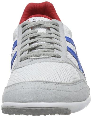 Onitsuka Tiger SHERBORNE RUNNER D416N Herren Sneaker Weiß (weiß / blau / rot)